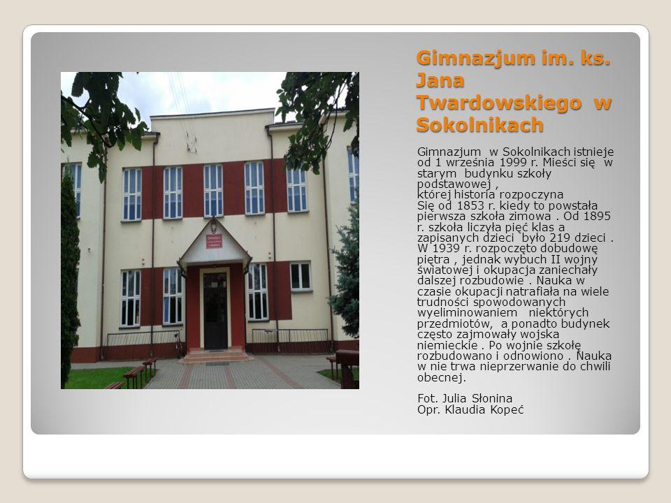 Gimnazjum im.ks.