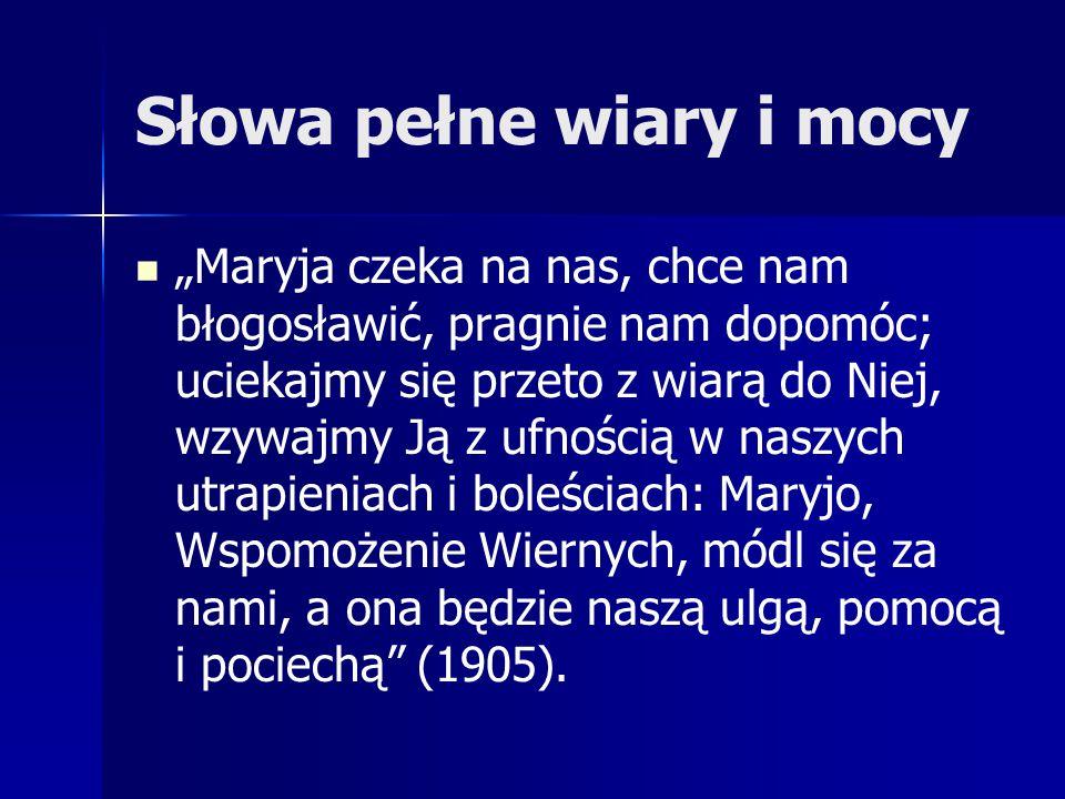 Korzyści dla Ojczyzny Poprzez ten akt Polacy ożywili swą wiarę i pobożność, aPolska weszła na fatimską drogę zawierzenia Maryi i wypełniania Jej próśb.