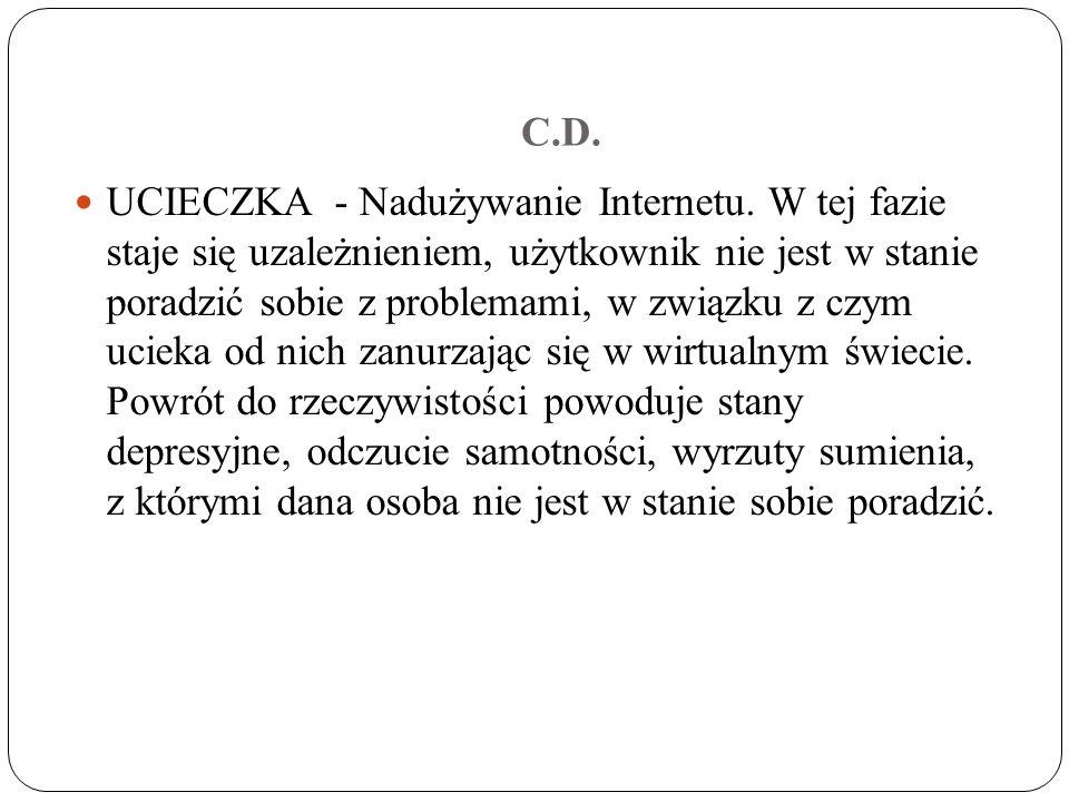 C.D.UCIECZKA - Nadużywanie Internetu.