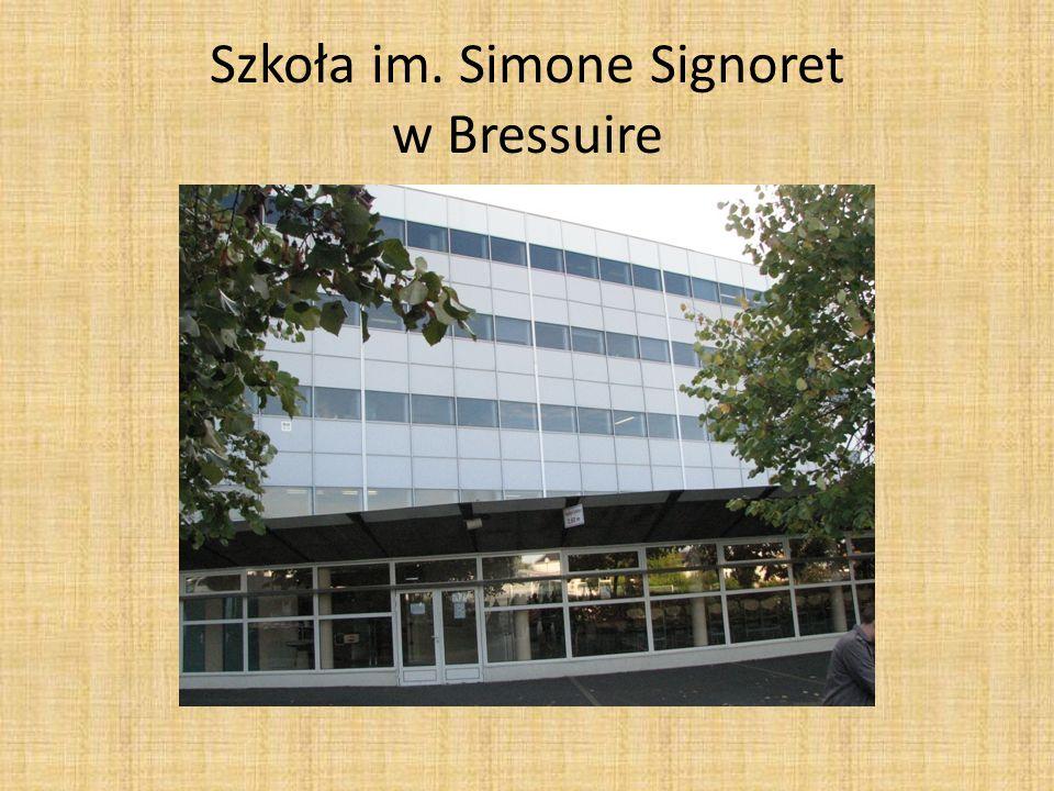Szkoła im. Simone Signoret w Bressuire