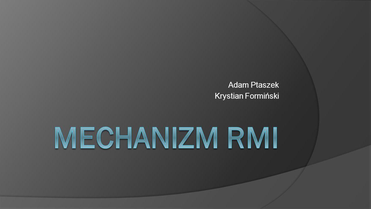 Adam Ptaszek Krystian Formiński