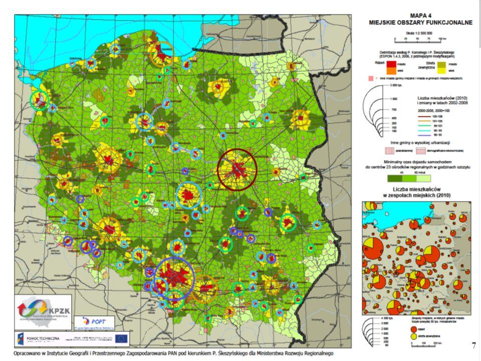 Miejskie obszary funkcjonalne w województwie wielkopolskim OFAL: położony jest w południowo-zachodniej Wielkopolsce.