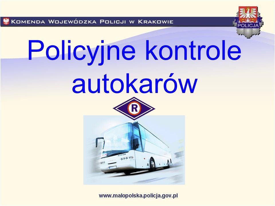 Kontrola autobusów Organizatorzy wyjazdów turystycznych, opiekunowie zorganizowanych grup oraz rodzice mogą zgłaszać pod nr tel.