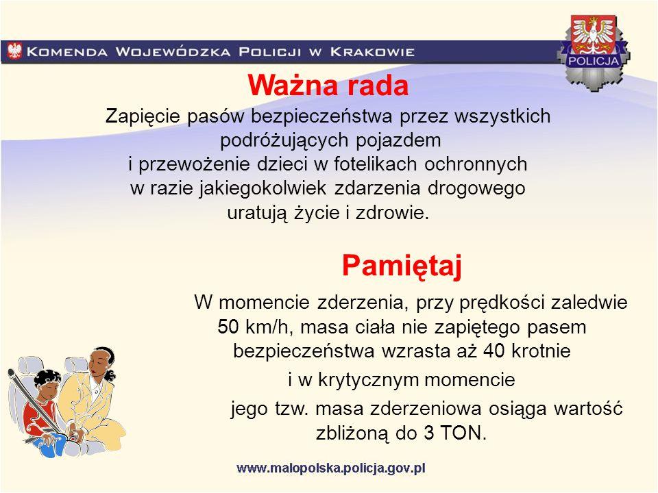 Ułatwienia dla kierowców Czas przejazdu Kraków - Myślenice - Rabka Zdrój - Zakopane Informacje dotyczące czasu przejazdu do danego miejsca oraz średnia prędkość pojazdu są zamieszczone na tzw.