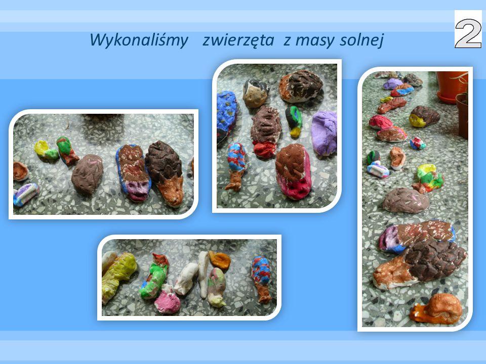 Wykonaliśmy zwierzęta z masy solnej