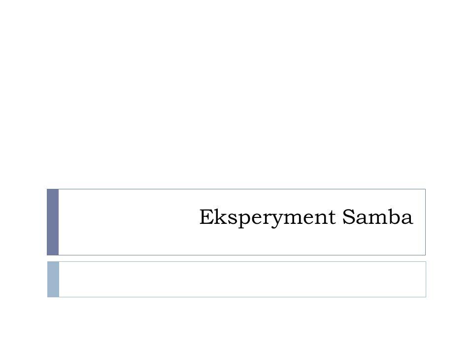 Eksperyment Samba