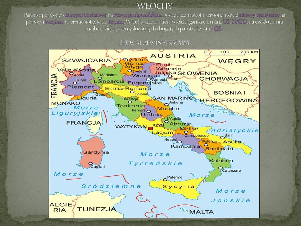 Region administracyjny w południowych Włoszech o powierzchni 15 079 km² i 2,09 milionach mieszkańców, ze stolicą w Catanzaro.