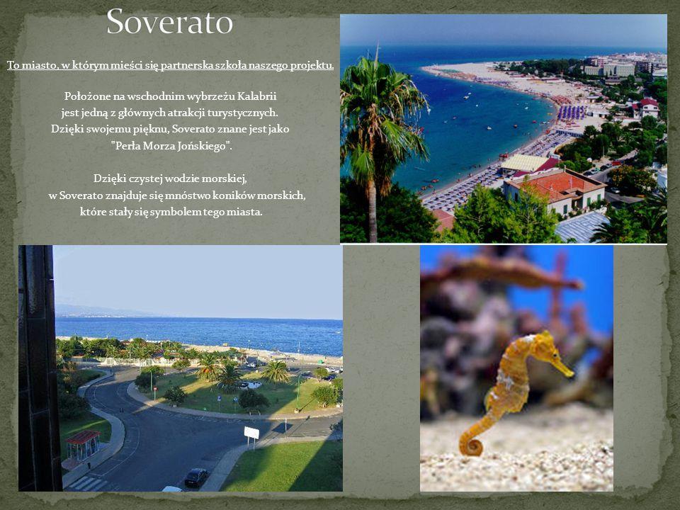 To miasto, w którym mieści się partnerska szkoła naszego projektu. Położone na wschodnim wybrzeżu Kalabrii jest jedną z głównych atrakcji turystycznyc