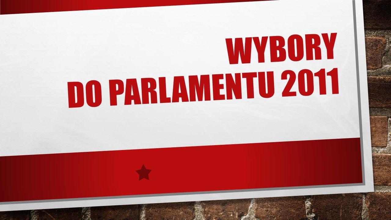 WYBORY DO PARLAMENTU 2011