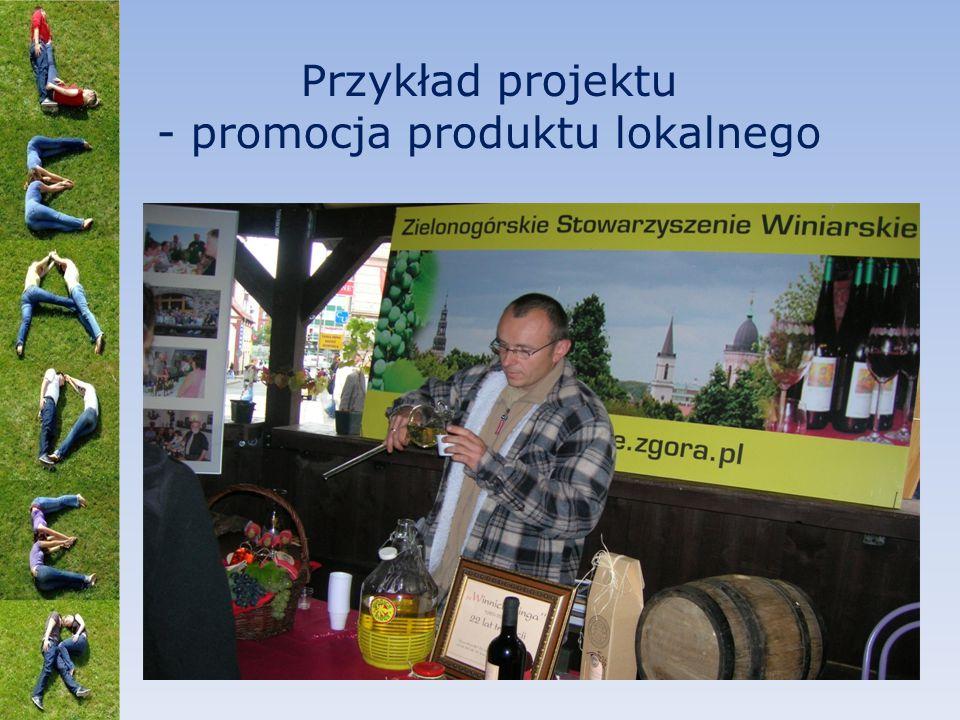 Przykład projektu - promocja produktu lokalnego