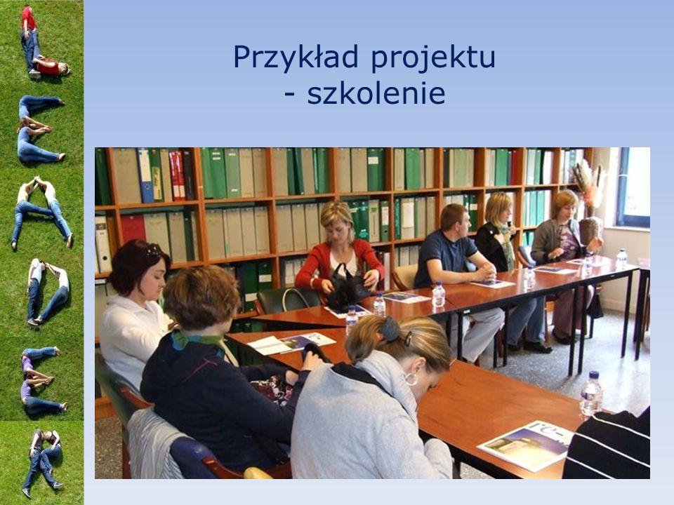 Przykład projektu - szkolenie