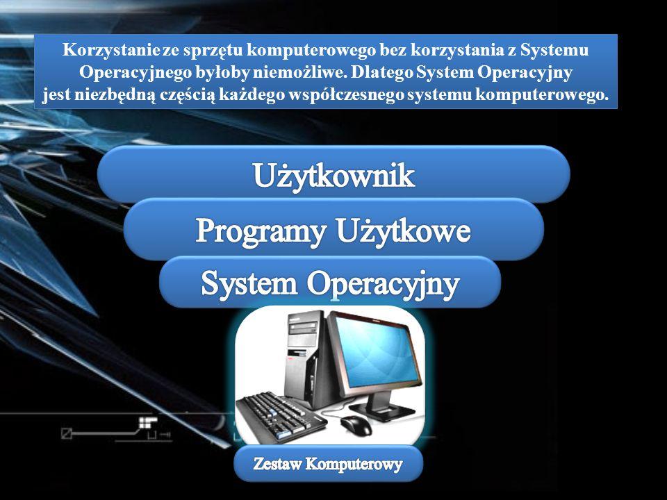 Korzystanie ze sprzętu komputerowego bez korzystania z Systemu Operacyjnego byłoby niemożliwe. Dlatego System Operacyjny jest niezbędną częścią każdeg
