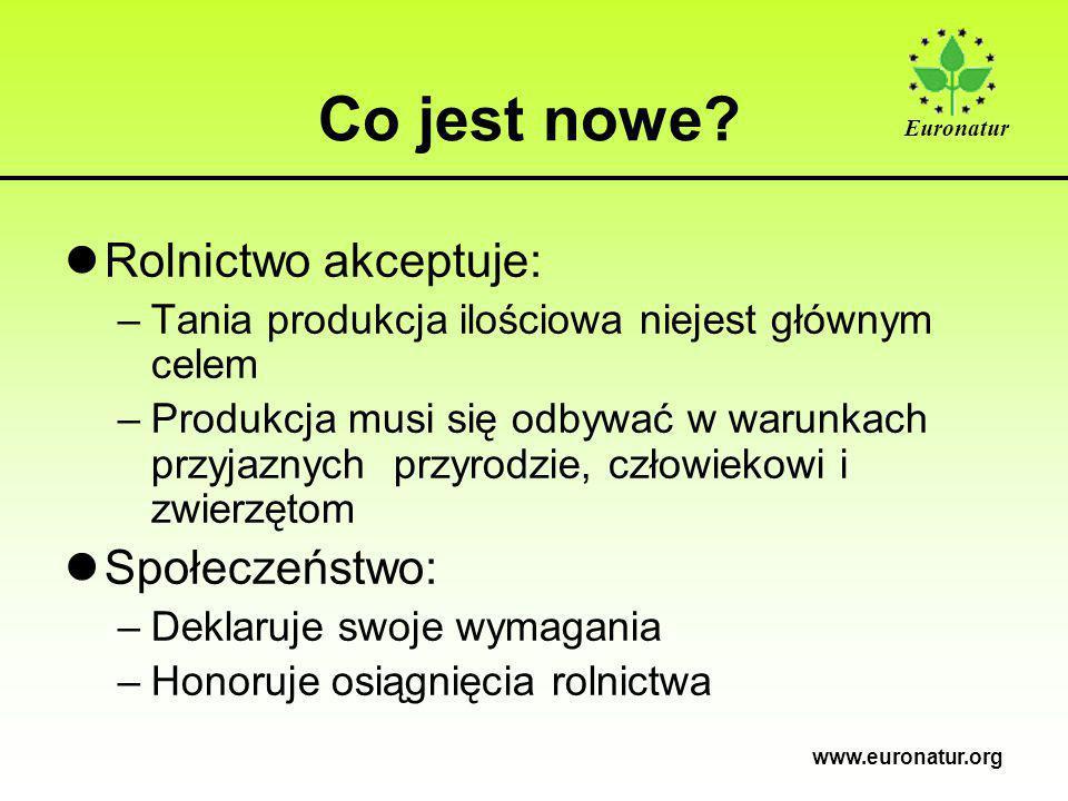 Euronatur www.euronatur.org Co jest nowe.
