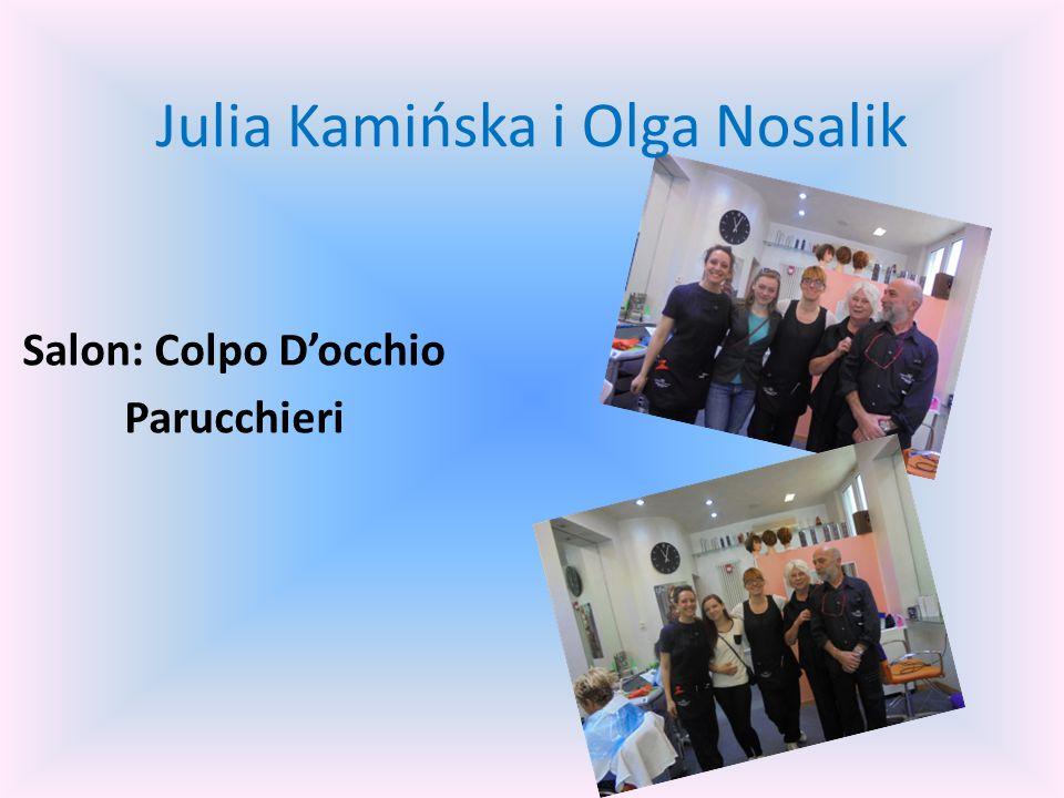 Agnieszka Pankowska i Edyta Porębińska Salon : I Boldrini parrucchieri
