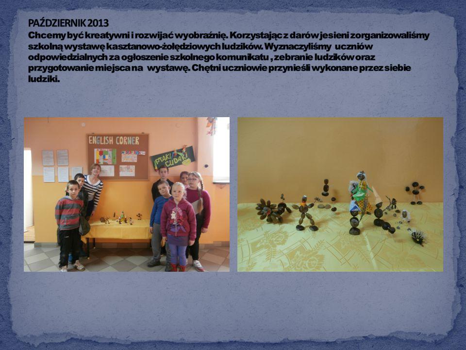 Październik zaczęliśmy organizacją Dnia Edukacji Narodowej. Włączyliśmy się w przygotowanie akademii. Każdy nauczyciel, pracownik szkoły oraz emerytow