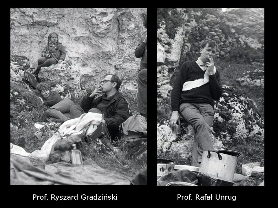 Prof. Ryszard GradzińskiProf. Rafał Unrug