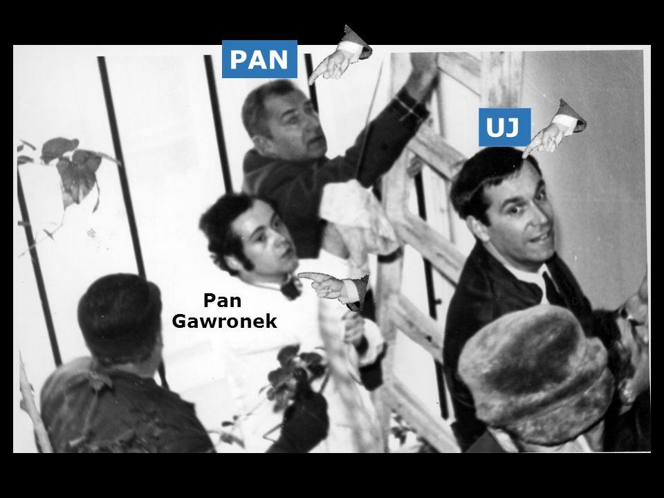 PAN UJ Pan Gawronek