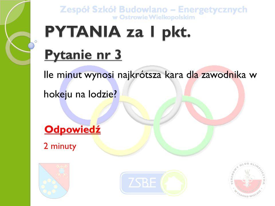 PYTANIA za 2 pkt.Pytanie nr 14 Kto został Mistrzem Polski w 2013 r.