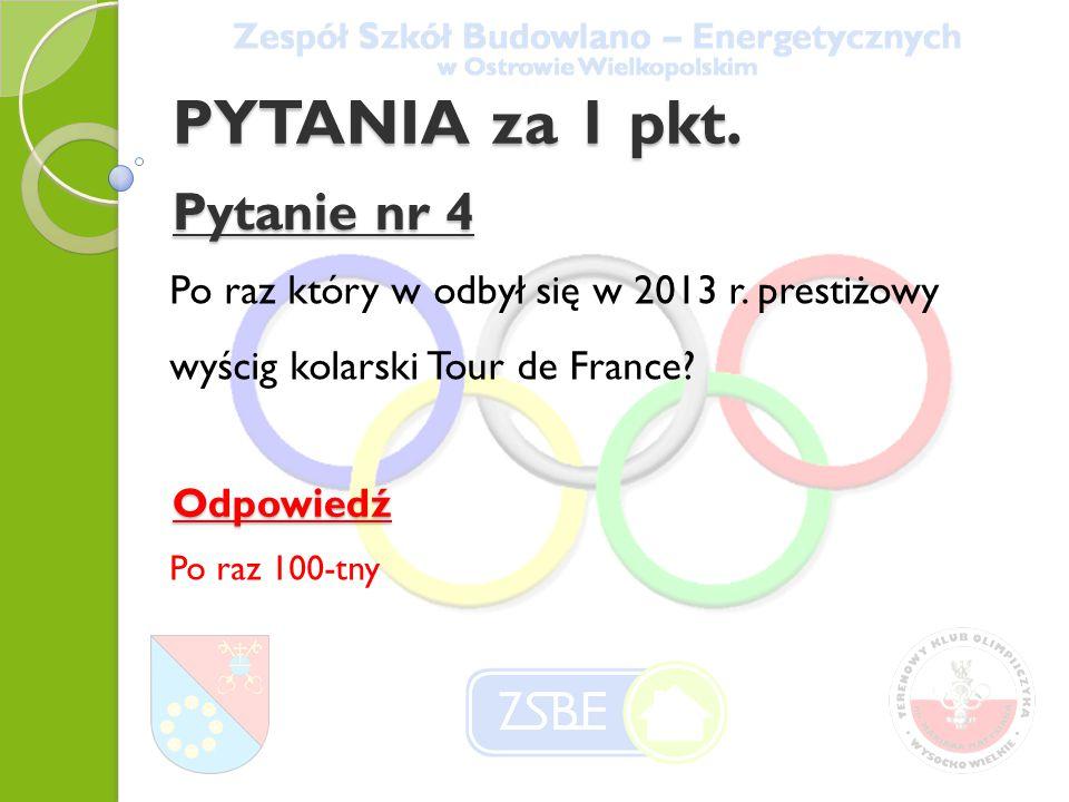Pytanie nr 5 Podaj ulicę w Poznaniu przy której znajduje się stadion Lecha.