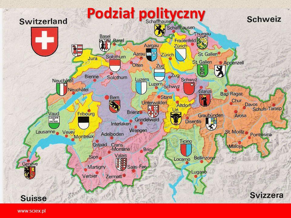 Podziałpolityczny Podział polityczny www.sciex.pl
