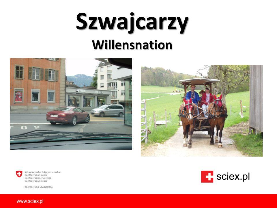 Szwajcarzy Willensnation www.sciex.pl