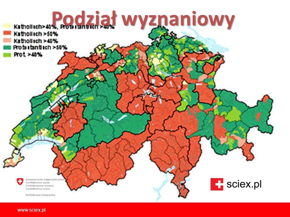 Podział wyznaniowy www.sciex.pl
