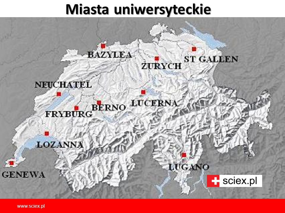 Miasta uniwersyteckie www.sciex.pl