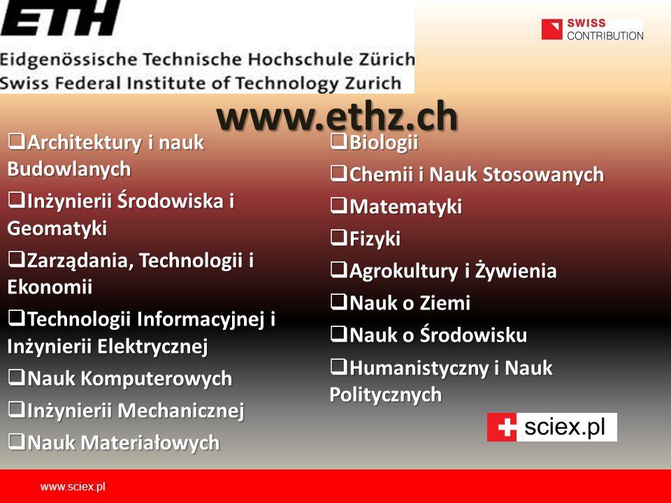  Architektury i nauk Budowlanych  Inżynierii Środowiska i Geomatyki  Zarządania, Technologii i Ekonomii  Technologii Informacyjnej i Inżynierii El