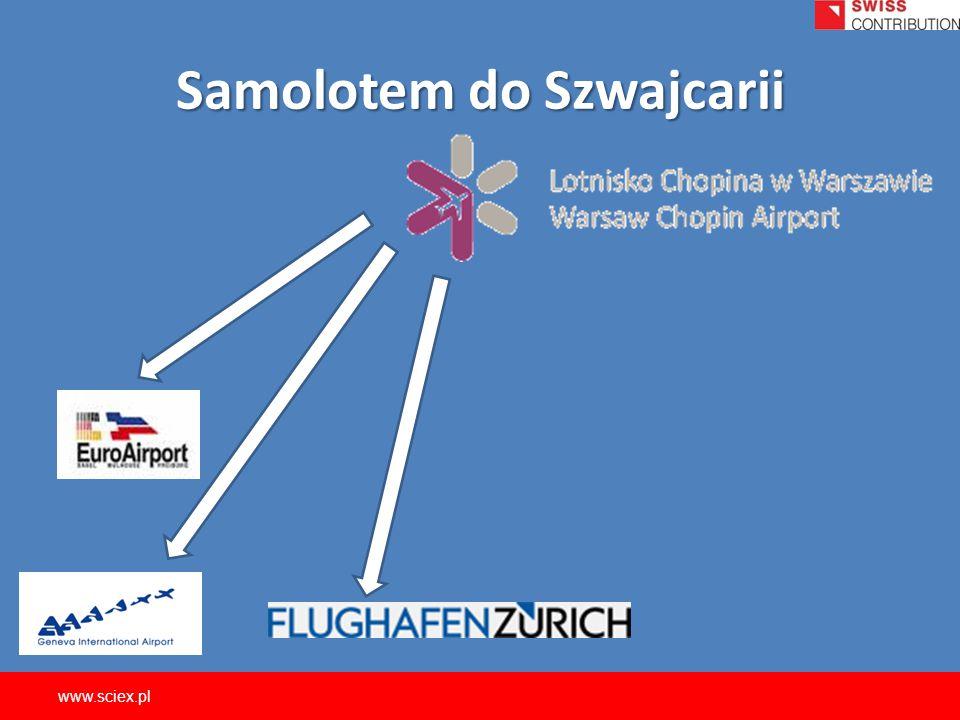 Samolotem do Szwajcarii www.sciex.pl