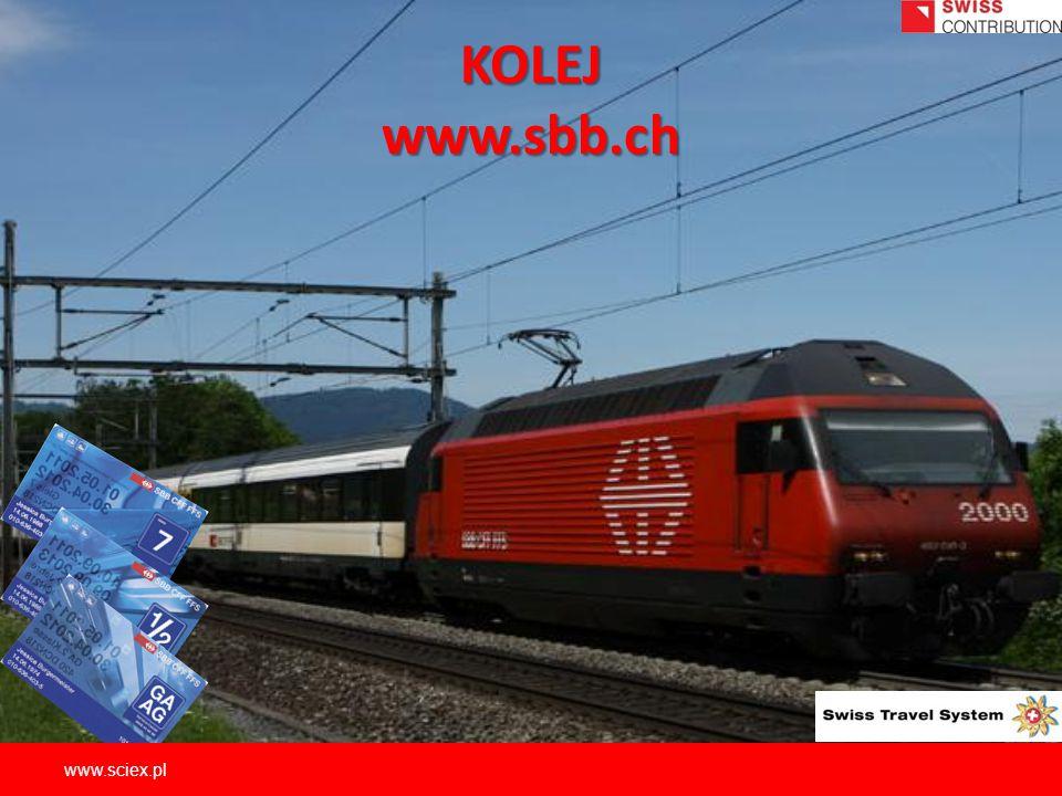 KOLEJ www.sbb.ch www.sciex.pl