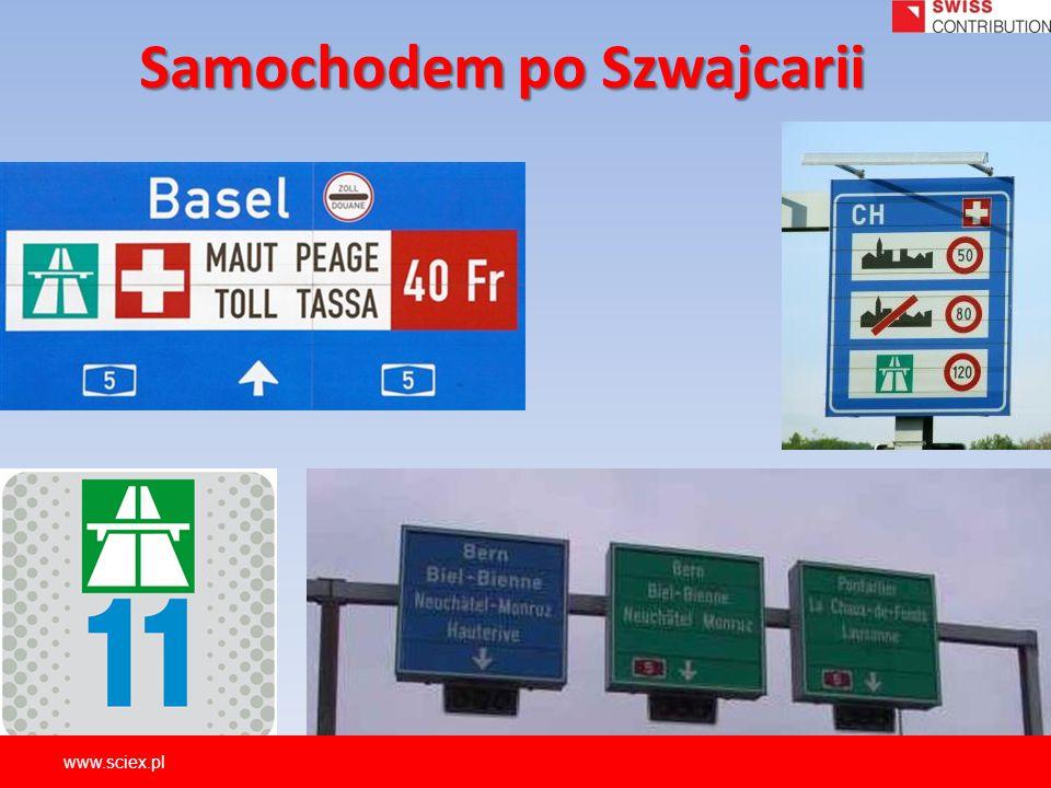 Samochodem po Szwajcarii www.sciex.pl