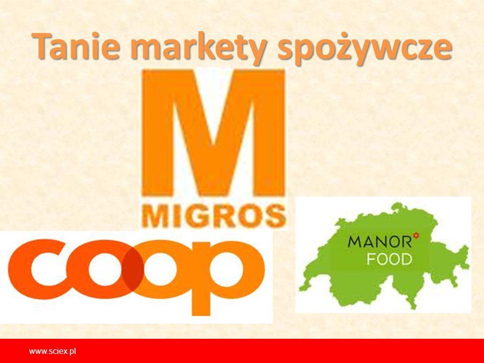 Tanie markety spożywcze www.sciex.pl