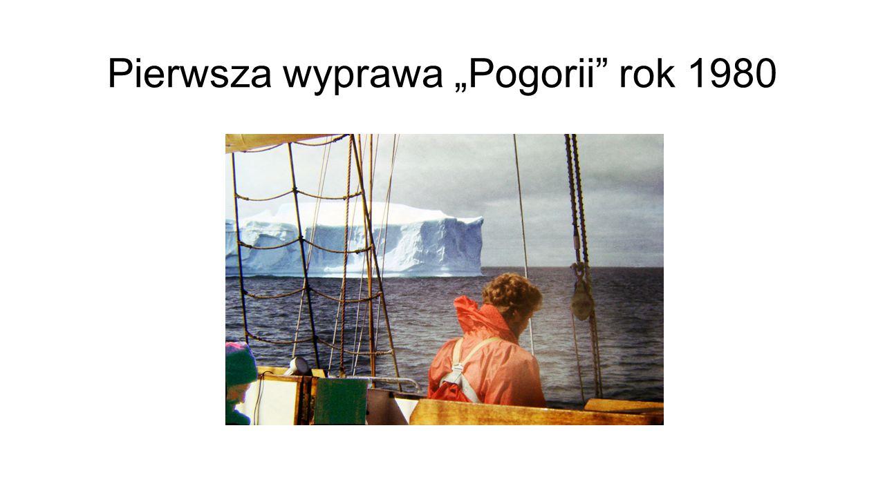 """Pierwsza wyprawa """"Pogorii"""" rok 1980"""