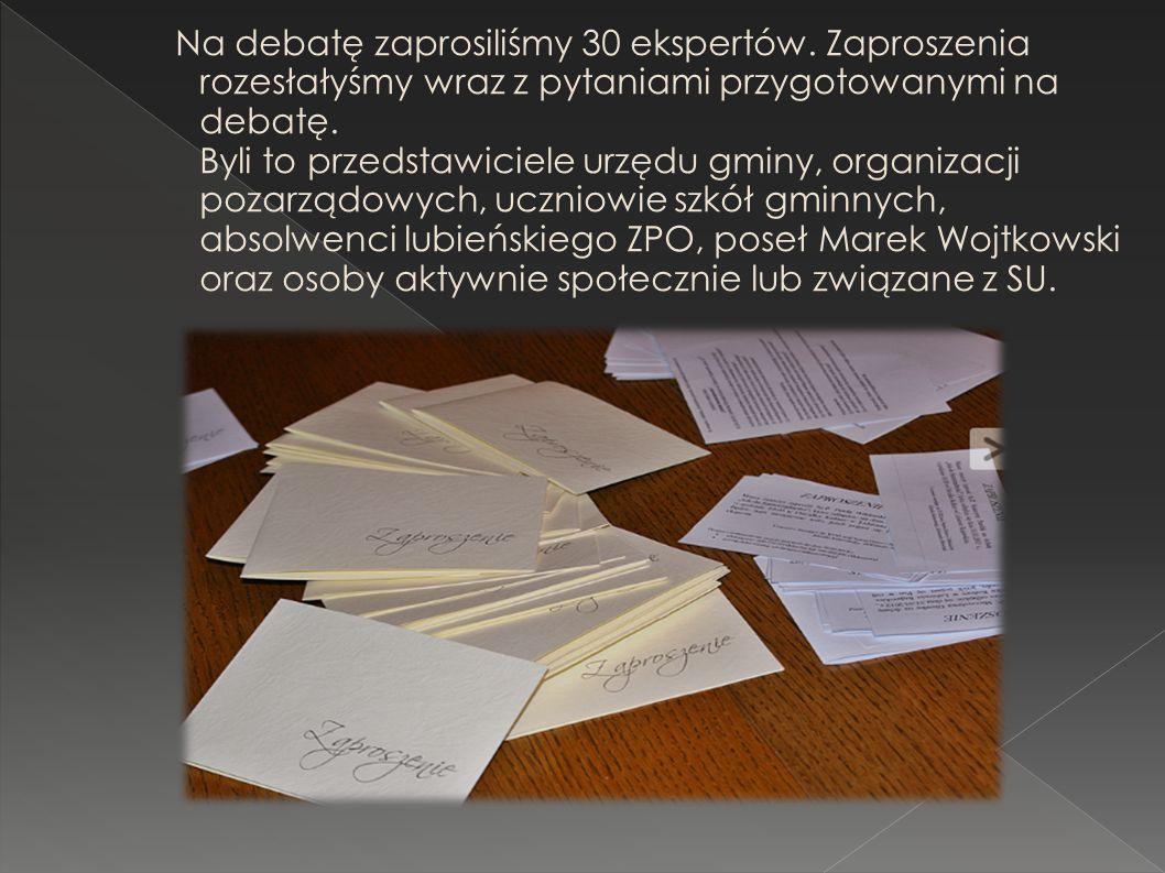 Na debatę zaprosiliśmy 30 ekspertów.