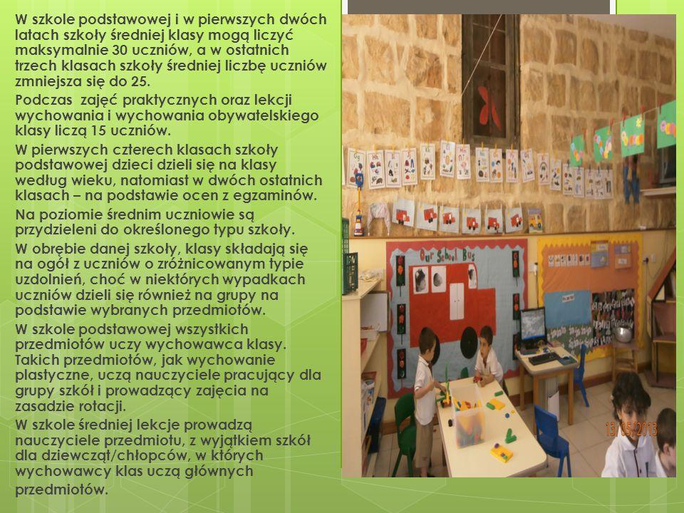 Programy i treści nauczania Na Malcie obowiązuje ogólnokrajowe minimum programowe.