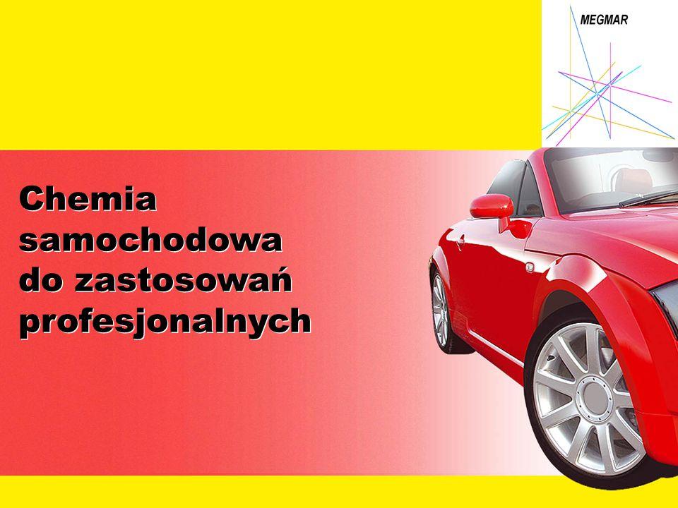CHEMIA SAMOCHDOWA – MEGMAR Pianka do mycia szyb Bardzo skuteczny środek czyszczący do usuwania wszelkich zabrudzeń z szyb samochodowych, luster i lusterek.