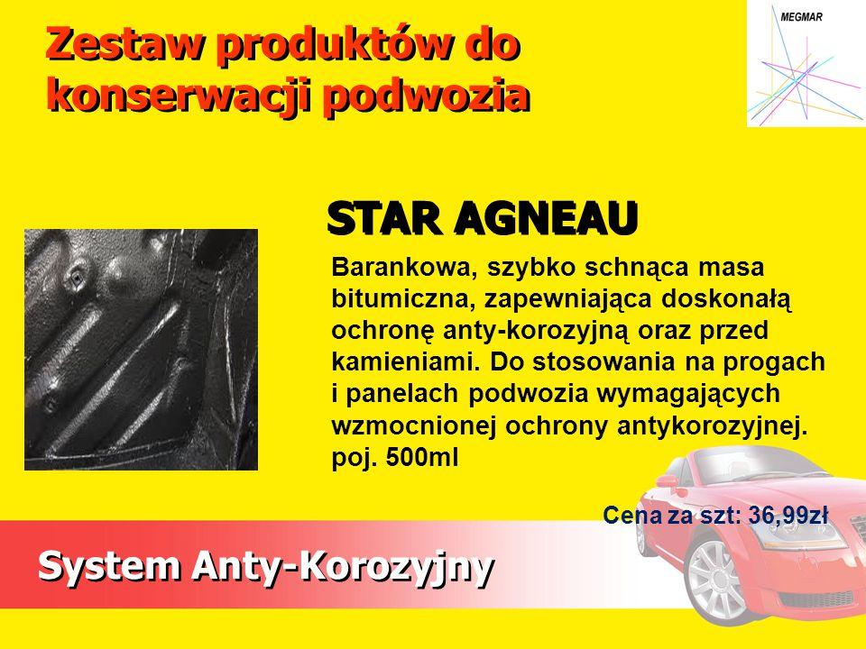 System Anty-Korozyjny Barankowa, szybko schnąca masa bitumiczna, zapewniająca doskonałą ochronę anty-korozyjną oraz przed kamieniami.