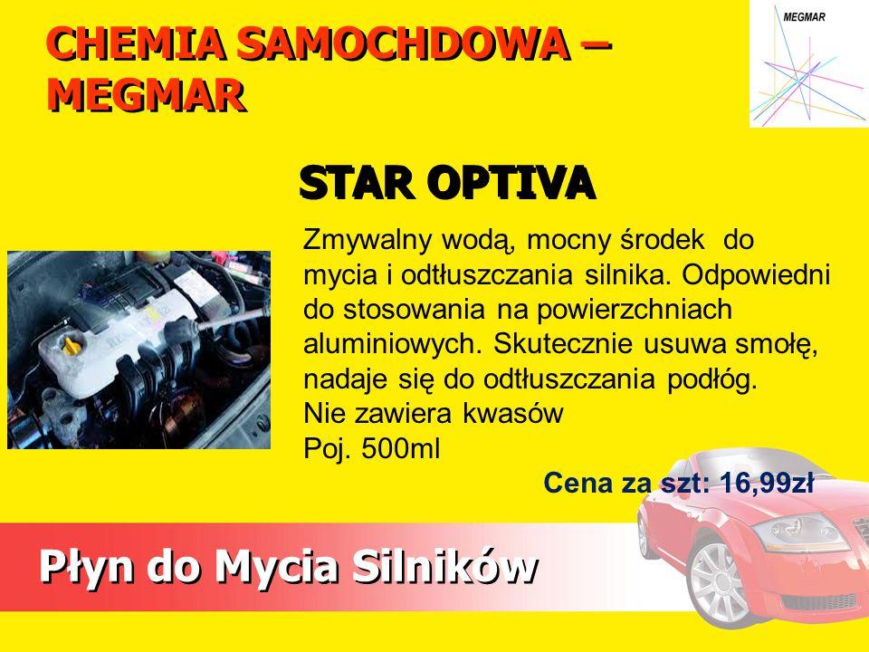CHEMIA SAMOCHDOWA – MEGMAR Płyn do Mycia Silników Zmywalny wodą, mocny środek do mycia i odtłuszczania silnika.