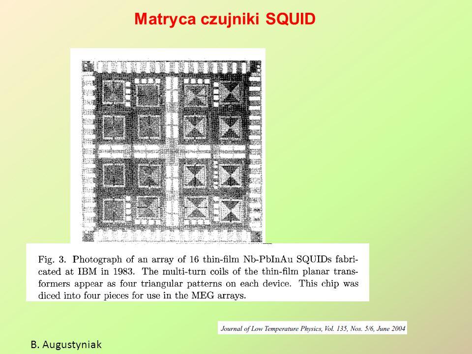 Matryca czujniki SQUID B. Augustyniak