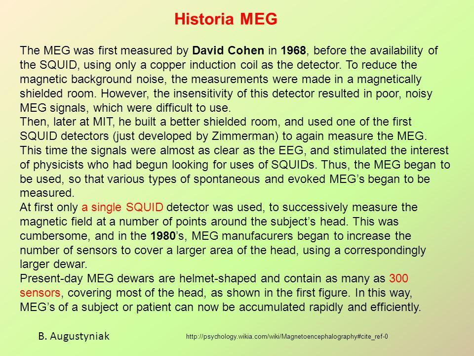 MEG typu 'Magnes 3600 WH' B.