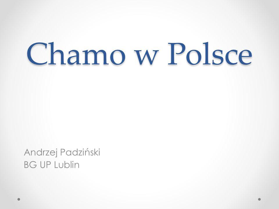 Chamo w Polsce Andrzej Padziński BG UP Lublin