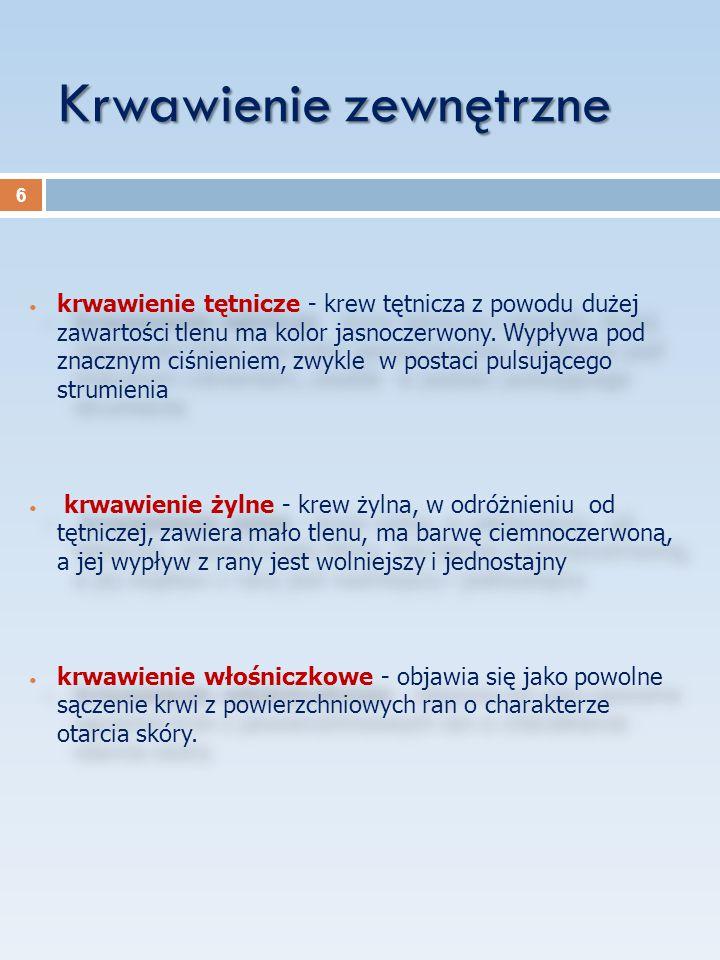 """Bibliografia: """"Pierwsza pomoc - Cezary Murawski, Teresa Sawicka, Lech Staszkiel """"Pierwsza pomoc w nagłych wypadkach - Edward Wojciechowski 37"""