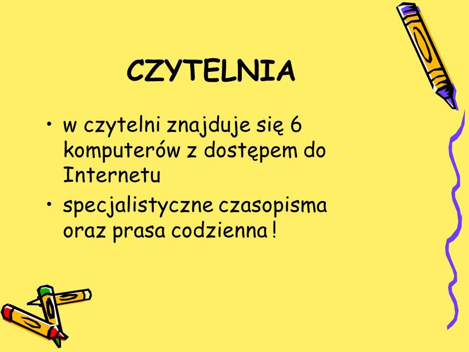 PRZEDŁUŻANIE TERMINU ZWROTU KSIĄŻEK osobiście w bibliotece telefonicznie ( 0 58 555 83 71 ) e-mailem na adres: biblioteka@ssw.sopot.pl