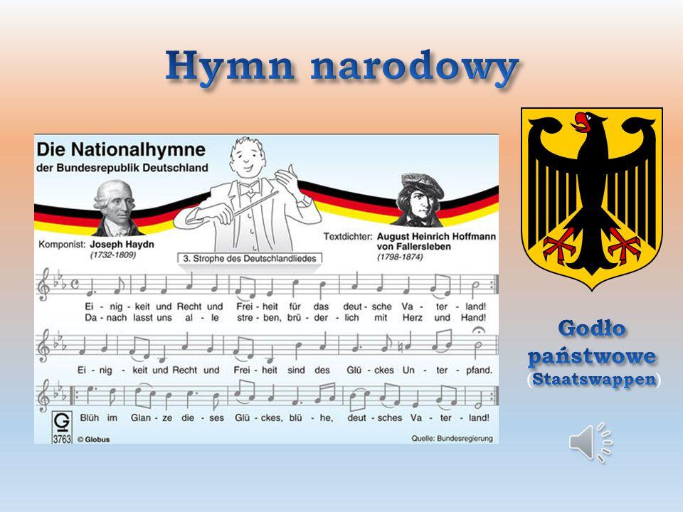 Niemcy (Deutschland) państwo w Europie Środkowej, nad Morzem Bałtyckim i Północnym; Powierzchnia: ok. 357 tys. km 2 km 2 Mieszkańcy: 80 mln, w tym 6,2