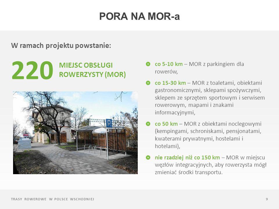 TRASY ROWEROWE W POLSCE WSCHODNIEJ10 Przykładowy projekt PORA NA MOR-a