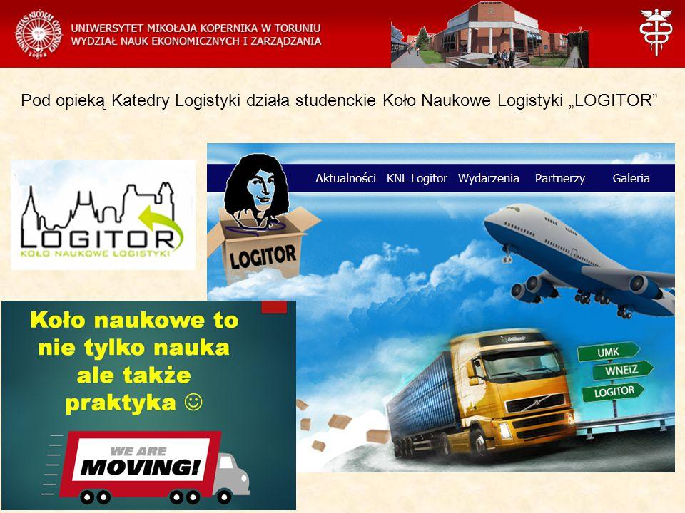 """Pod opieką Katedry Logistyki działa studenckie Koło Naukowe Logistyki """"LOGITOR"""""""