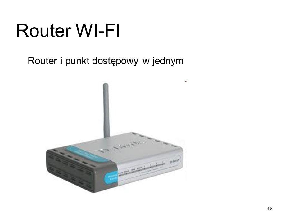 Router i punkt dostępowy w jednym Router WI-FI 48
