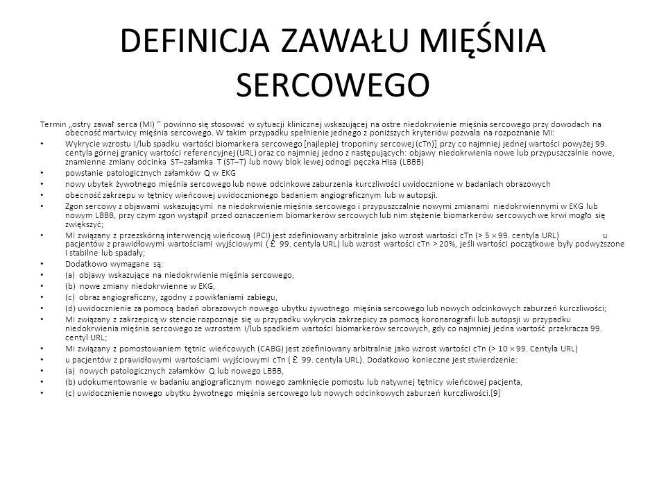 PACJENT Z GRUPY WIEKOWEJ 50-60 LAT Prawa tętnica wieńcowa - naczynie dozawałowe.