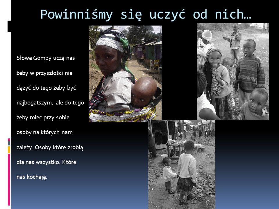 Następny przekaz to Kolejną historie poznajemy naszego rówieśnika chłopca mieszkającego w Ugandzie o imieniu Bosco.