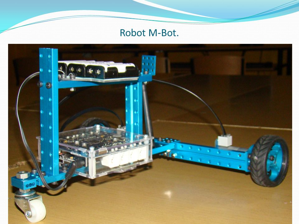 Robot M-Bot.